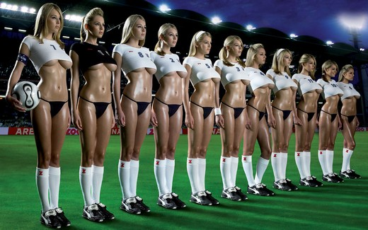 Team football sexy